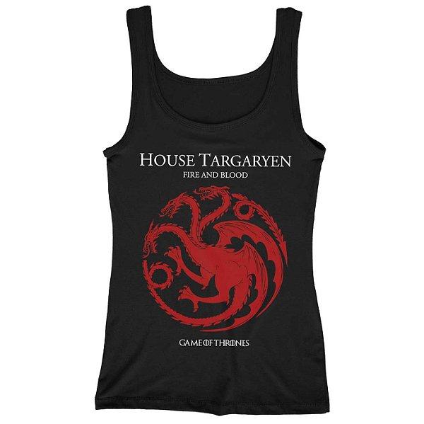 Regata Feminina Game of Thrones - House Targaryen