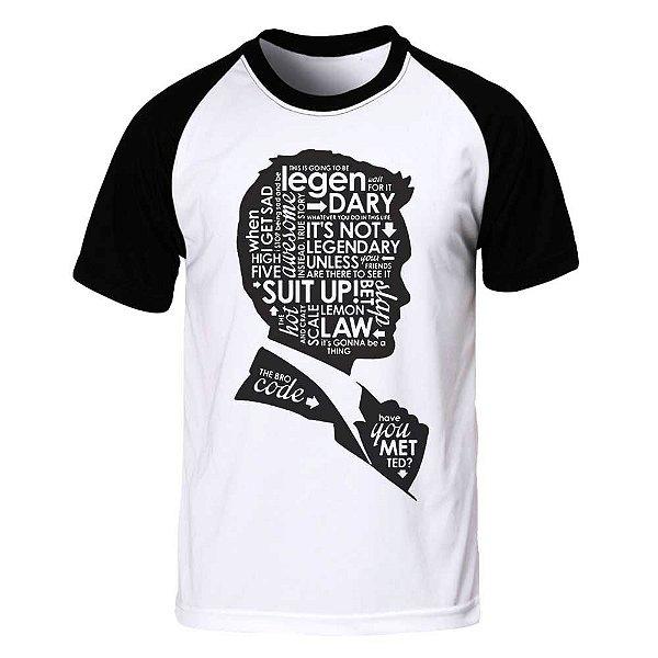Camiseta Raglan How I Met Your Mother - Letters