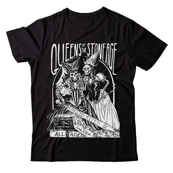 Camiseta Queens of the Stone Age - Skulls