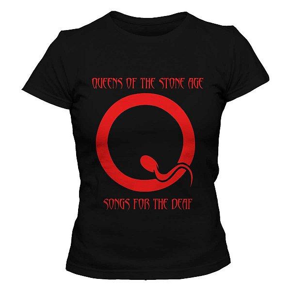 Camiseta Feminina Queens of the Stone Age