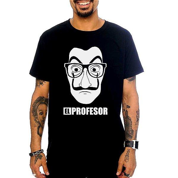 Camiseta La Casa de Papel - El Prof