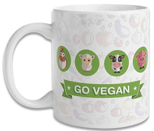 Caneca Go Vegan