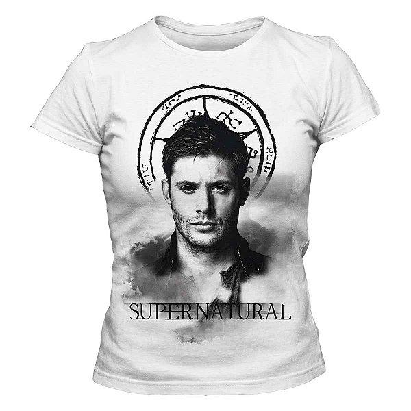 Camiseta Feminina Supernatural - Dean