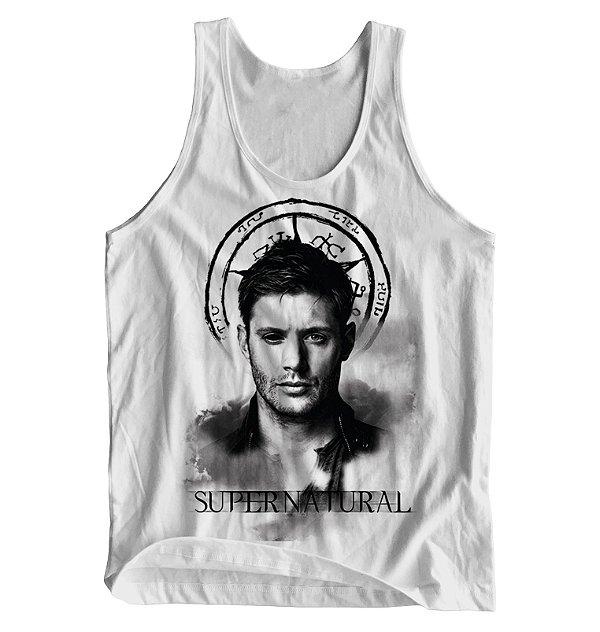 de86b1d8fc Regata Masculina Supernatural - Dean - Blitzart - Camisetas Legais ...