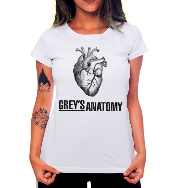 Camiseta Feminina Grey's Anatomy