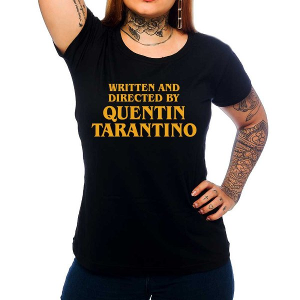 Camiseta Feminina Quentin Tarantino