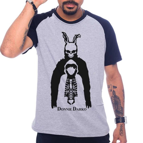 Camiseta Raglan Donnie Darko