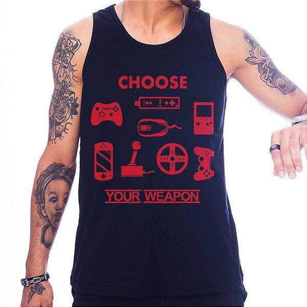 Regata Masculina Choose Your Weapon