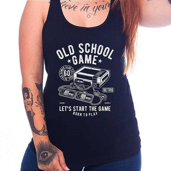 Regata Feminina Old School Game