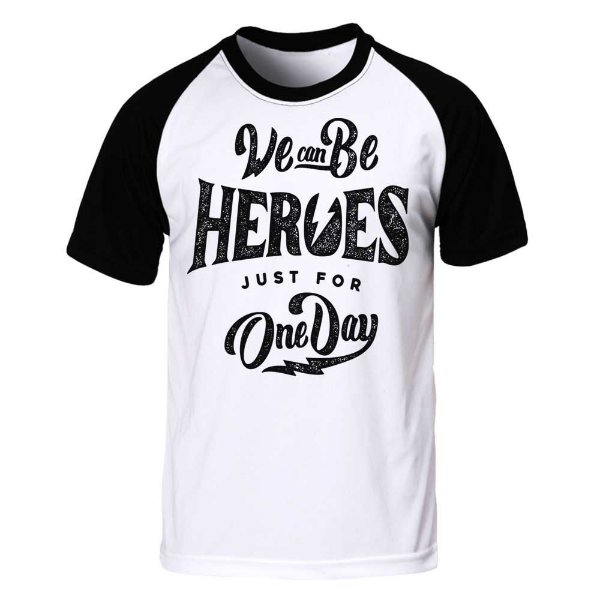 Camiseta Raglan Heroes For One Day
