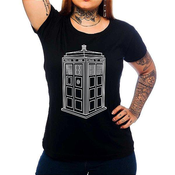 Camiseta Feminina Black Box