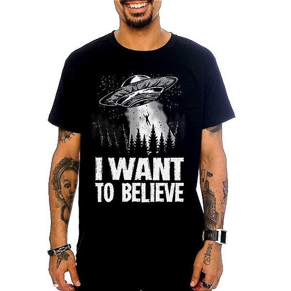 Camiseta I Want To Believe