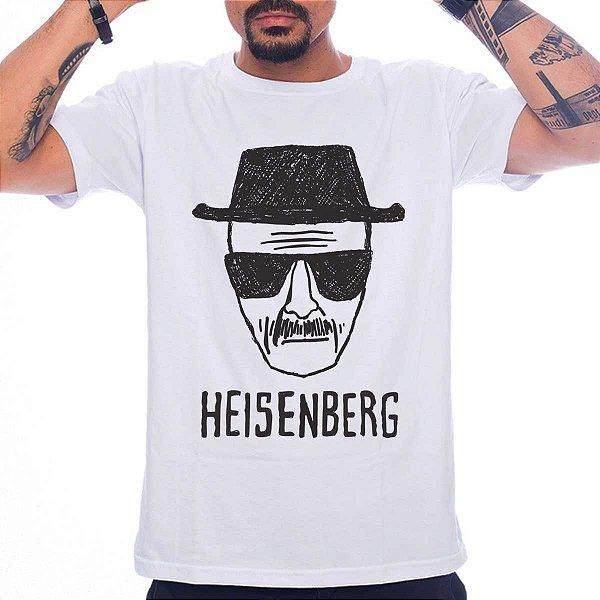 Camiseta Breaking Bad - Heisenberg