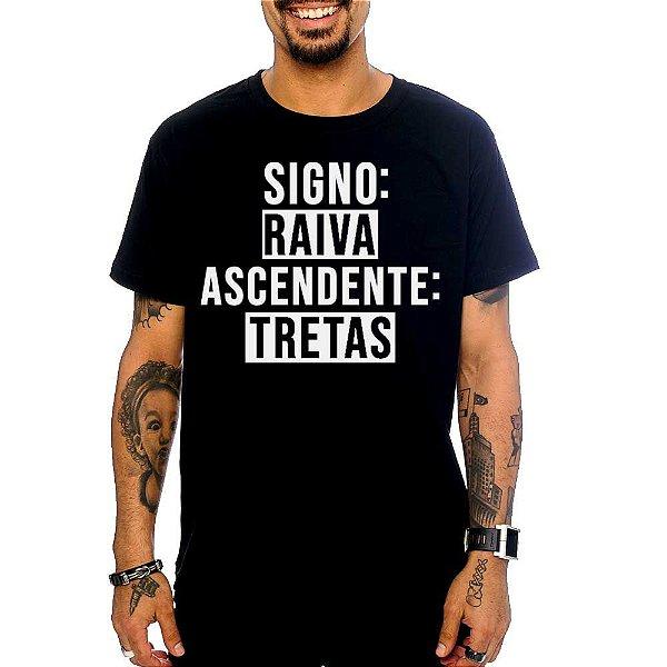 Camiseta Signo Raiva, Ascendente Tretas