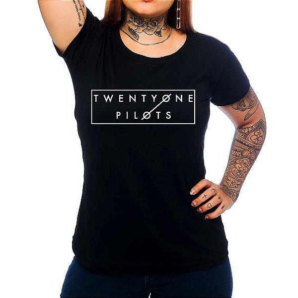 Camiseta Feminina Twenty One Pilots 2
