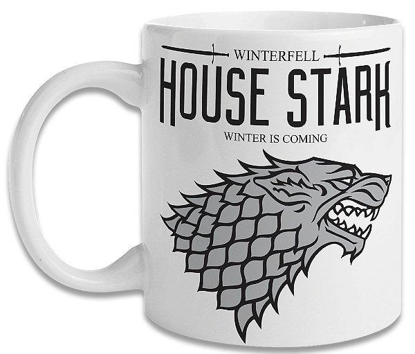 Caneca Game of Thrones - House Stark