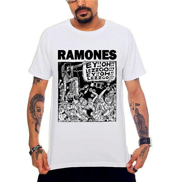 Camiseta Ramones - Let's Go!