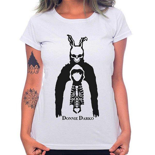Camiseta Feminina Donnie Darko - Branco - P