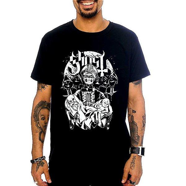 Camiseta Ghost Born - Preta - M