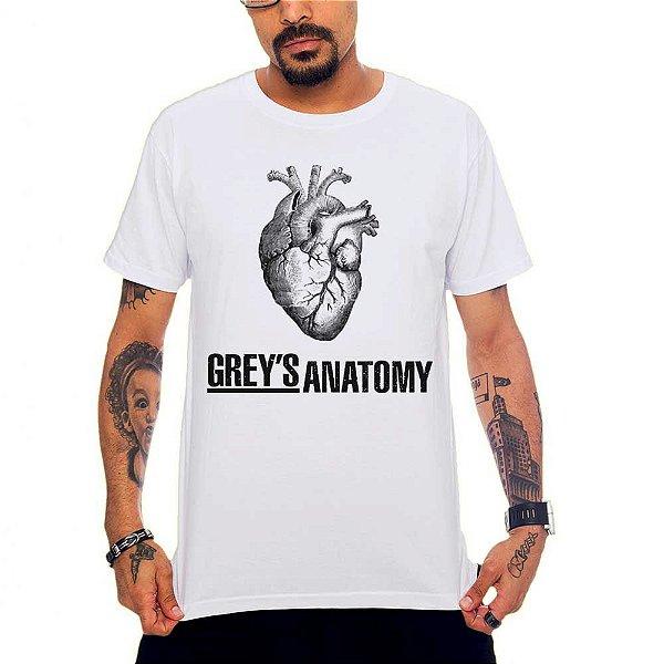 Camiseta Grey's Anatomy - Branco - G
