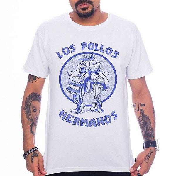 Camiseta Los Pollos Hermanos - Branco - G