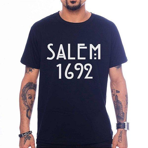 Camiseta Salem - Preto - G