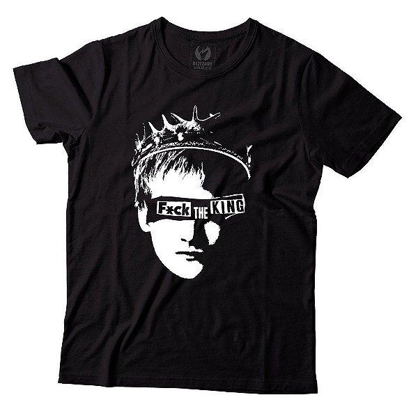 Camiseta - Game of Thrones - Fck King - Preta - P