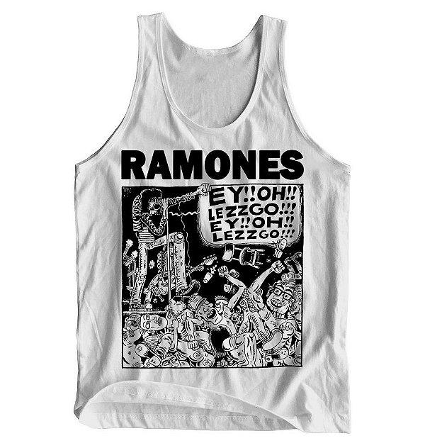 Regata Ramones - Branca - P