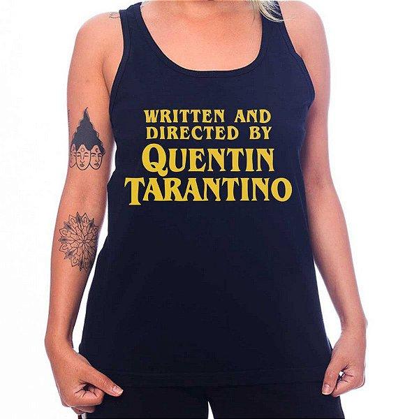 Regata Feminina Quentin Tarantino - Preta - GG