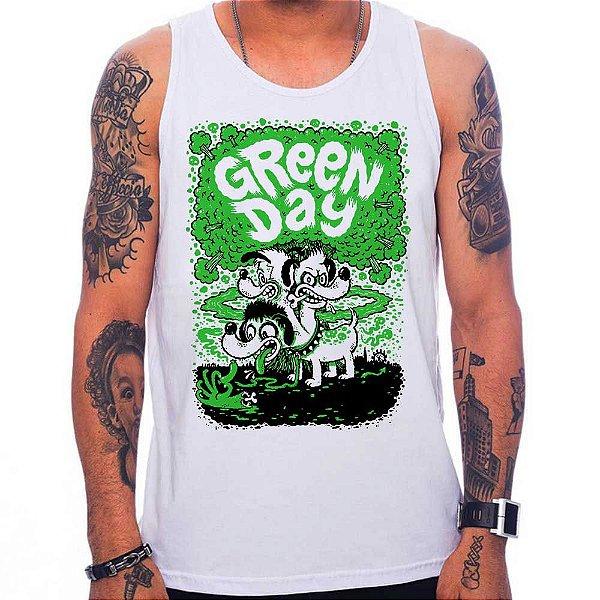 Regata Green Day Dog - Branca - G