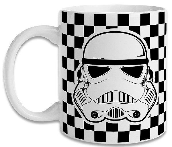 Caneca Star Wars - Stormtrooper Xadrez