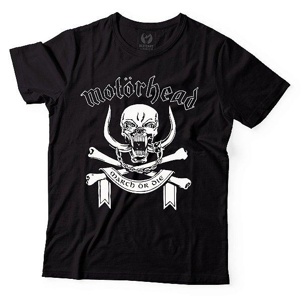 Camiseta Motörhead - March or Die
