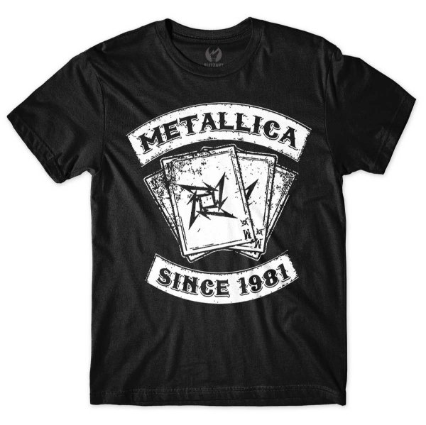 Camiseta Metallica - Since 1981