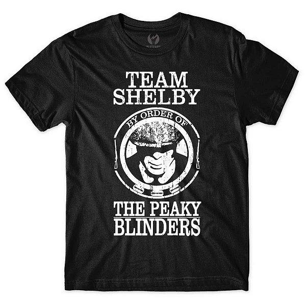 Camiseta Peaky Blinders - Team Shelby