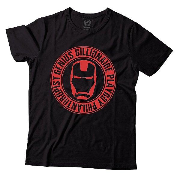 Camiseta Homem de Ferro - Genius