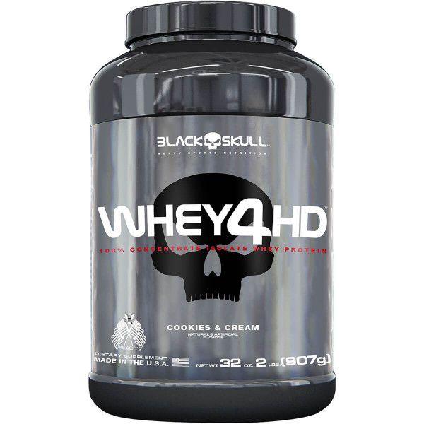 Whey 4HD Black Skull - 900g