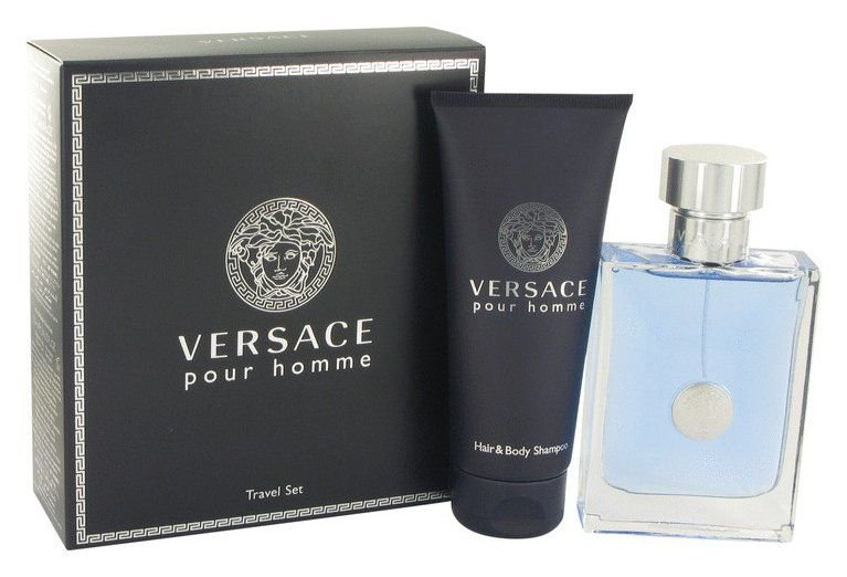 Kit Versace Pour Homme 100ml + Shampoo 100ml