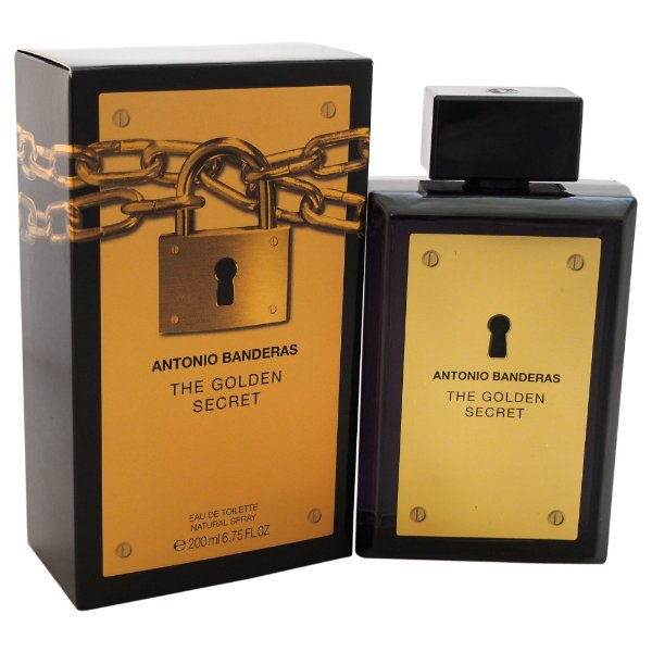The Golden Secret Masculino 50ml Antonio Banderas