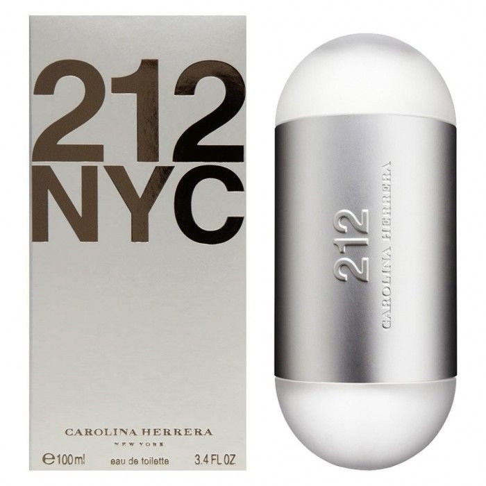212 Feminino 100ml Carolina Herrera