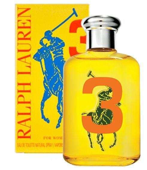 Ralph Lauren Polo Big Pony Yellow #3 Feminino 50ml