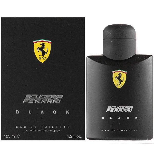 Ferrari Scuderia Black Masculino 125ml