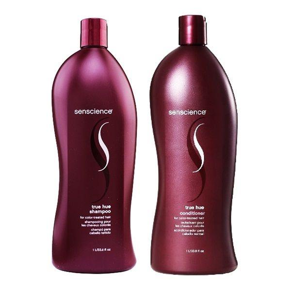 Kit Shampoo e Condicionador Senscience True Hue Cabelos Coloridos