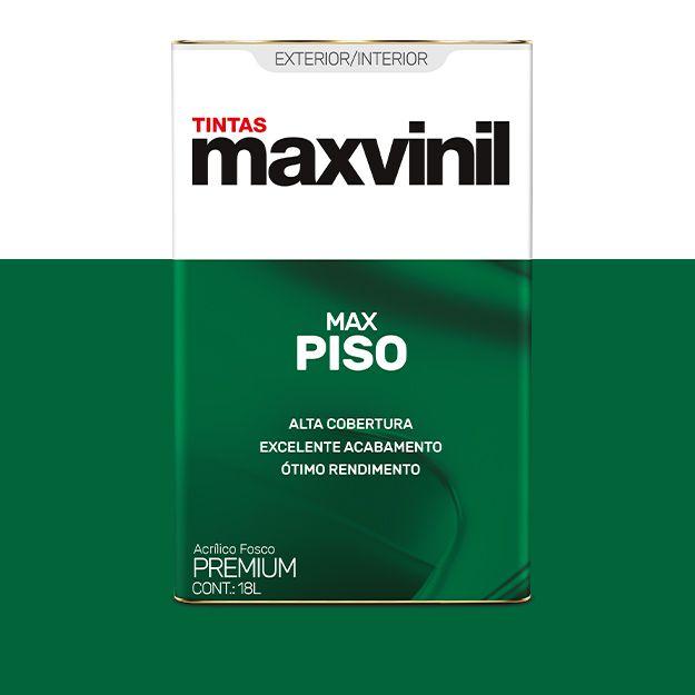 Tinta Piso 18L Maxvinil