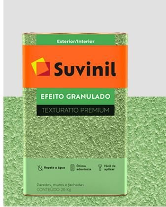 Base Massa Textura 26 kg - Efeito Granulado - Texturatto Premium - Suvinil