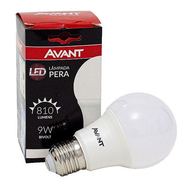 LAMP LED PERA 6500K 9W BIVOLT KL806