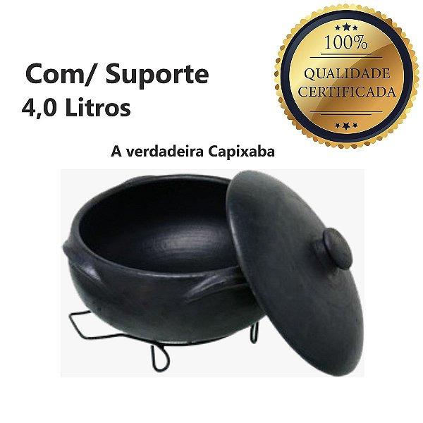 Panela Barro Preto N3 Self Service 4,0 Litros Capixaba
