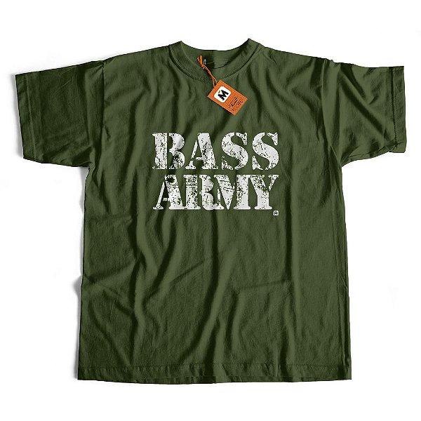 Camiseta Bass Army