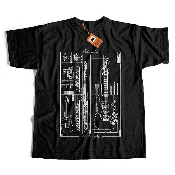 Camiseta Guitarra Strato