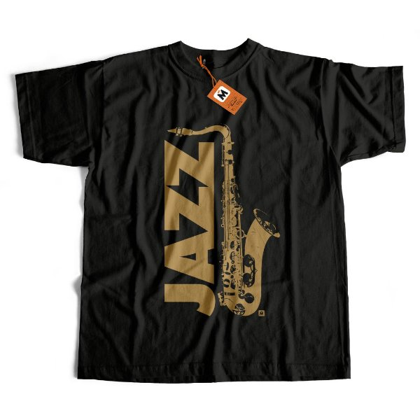 Camiseta Jazz Sax