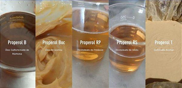 LFO de Camargo | Óleo Sulfuricinado de Mamona, Properol T, Ricinoleato de Potássio